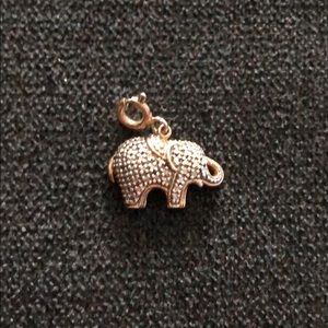 Other - Elephant Gold and Silver Charm w Clasp